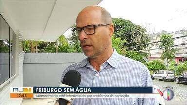 Representante da concessionária de água e esgoto fala do abastecimento em Nova Friburgo - Assista a seguir.