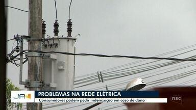 Consumidores podem pedir indenização em caso de danos na rede elétrica - Consumidores podem pedir indenização em caso de danos na rede elétrica