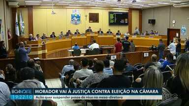 Morador de Foz quer impedir que vereadores assumam presidência da Câmara - Três deles são réus em processos na Justiça.