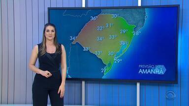 Tempo: chuva deve perder intensidade nesta quinta-feira e calor predomina no RS - Assista ao vídeo.