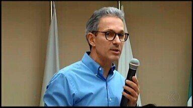 Governador eleito de MG, Romeu Zema se reúne com prefeitos em Araxá - Em entrevista ao MG, ele falou sobre o processo de transição.
