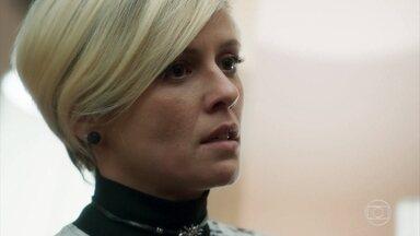 Louise questiona Sampaio sobre segredos de Valentina - Capanga intimida e ameaça a amante