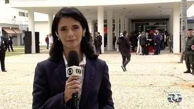 Assembleia Legislativa do Estado de Goiás se prepara para posse de Ronaldo Caiado - Cerimônia começa às 9h.