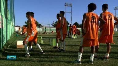 Coruripe treina para o campeonato Estadual - Campeonato começa dia 20.