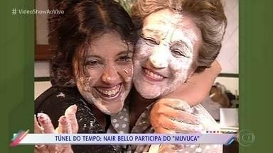 Túnel do Tempo: Relembre Nair Bello no 'Muvuca', em 1999 - Confira