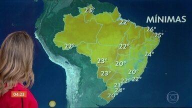 Previsão é de temporal no RS nesta quinta-feira (3) - O alerta também é de temporal em São Paulo. Veja como fica o tempo em todo país.