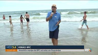 Começa mais uma edição do Verão RPC - Jasson Goulart abre a temporada na em Matinhos