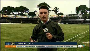 Jogadores do Operário já estão de volta para preparação para o Campeonato Paranaense - Paranaense começa no fim do mês, primeira partida do Fantasma vai ser contra o Paraná Clube.