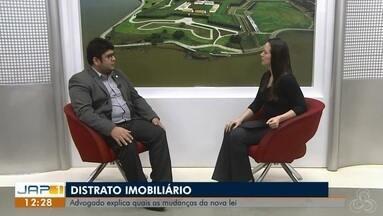 Entrevista: Distrato Imobiliário, lei que aumenta a multa para quem desiste dos contratos - Advogado especialista em Direito Imobiliário Pablo Santos, explica quais as mudanças da nova lei sancionada.