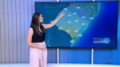 Chuva atinge maior parte do RS na sexta-feira (4) - Assista ao vídeo.