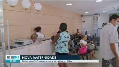 Partos pelo SUS começam a ser feitos no Hospital Infantil de Cachoeiro - Partos não serão mais feitos na Santa Casa.
