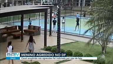 Polícia indicia casal envolvido em agredir criança em Brasília - A Polícia Civil informou que o caso será indiciado por vias de fato, um crime de menor potencial ofensivo.