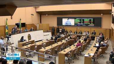 Deputados aprovam lei que antecipa recebimento dos royaltes para Sergipe - Deputados aprovam lei que antecipa recebimento dos royaltes para Sergipe.