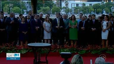 Secretários do segundo mandato de Paulo Câmara tomam posse em Recife - Uma das novidades é a chegada do PT para a nova gestão