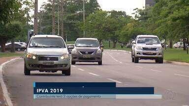 Boletos do IPVA 2019 começam a ser emitidos - Boletos do IPVA 2019 começam a ser emitidos