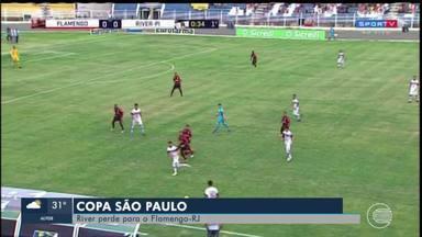 River enfrenta Flamengo do Rio na copa São Paulo - River enfrenta Flamengo do Rio na copa São Paulo