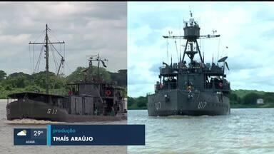 Navios no Mato Grosso do Sul recebem nomes dos dois maiores rios do Piauí - Navios no Mato Grosso do Sul recebem nomes dos dois maiores rios do Piauí