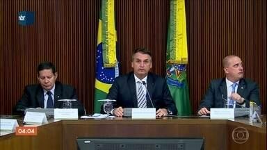 Ministro da Casa Civil diz que houve movimentações estranhas de recursos no Governo Temer - Segundo o ministro da Casa Civil, houve movimentações estranhas de recursos. Jair Bolsonaro se reuniu na quinta-feira (3) com todos os ministros.