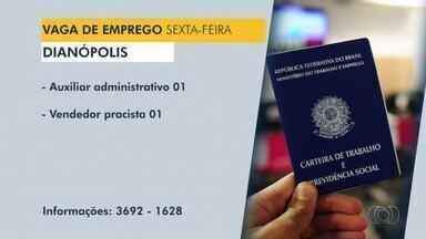 Veja vagas de emprego para Dianópolis, Guaraí e Araguatins - Veja vagas de emprego para Dianópolis, Guaraí e Araguatins