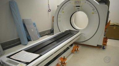 Hospital das Clínicas de Marília recebe novo tomógrafo - Equipamento custou R$ 1,13 milhão e deve começar a funcionar até o dia 10 de janeiro deste ano.