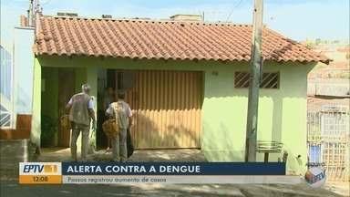 Moradores de Passos estão em alerta contra risco de dengue - Moradores de Passos estão em alerta contra risco de dengue