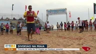 Circuito de Verão começa neste sábado (5) com atividades gratuitas - Neste ano, o projeto da TV Gazeta, que chega à sua sexta edição e acontece nas principais praias da Grande Vitória, começa amanhã (5), na praia de Camburi, das 8h às 13h.