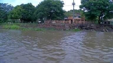 Por conta das chuvas dos últimos dias, rios estão sendo monitorados pela Defesa Civil - Preocupação principal é com o Taquari e o Paraguai.