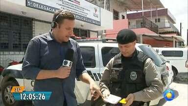 Mulher é presa em Bayeux, na Paraíba, com carro clonado - A mulher tem ficha na Polícia Federal.