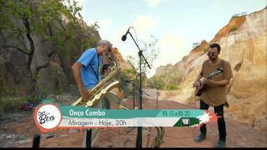 Onça Combo se apresenta hoje em João Pessoa - Saiba quais as atrações para o fim de semana no Qual é a Boa.