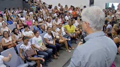 Candidatos reclamam de convocação em processo seletivo da educação em Cuiabá - Candidatos reclamam de convocação em processo seletivo da educação em Cuiabá.