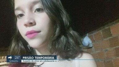 Suspeito de atirar em adolescente que recusou namoro se entrega à polícia em Matão, SP - Jovem de 14 anos foi morta a tiros em Bebedouro.