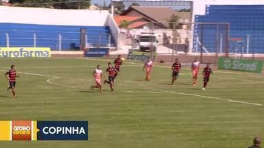 Copa São Paulo de futebol júnior - Ceilândia perde para o Ceará. Legião empata com Atlético-GO.