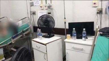 Pacientes de hospitais públicos do Rio sofrem com falta de atendimento e com o calor - Eles reclamam que hospitais estão sem medicamentos e até sem ar condicionado.