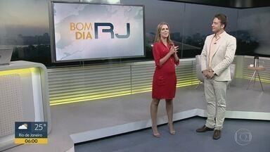 Bom Dia RJ - Edição de segunda-feira 07/01/2019 - As primeiras notícias do Rio de Janeiro, apresentadas por Flávio Fachel, com prestação de serviço, boletins de trânsito e previsão do tempo.
