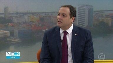 Paulo Câmara afirma que vai tentar parcerias com Jair Bolsonaro - Governador de Pernambuco disse que solicitaria reunião com Bolsonaro.
