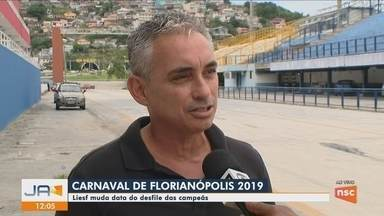 Liesf muda data de desfile das campeãs no Carnaval de Florianópolis - Liesf muda data de desfile das campeãs no Carnaval de Florianópolis