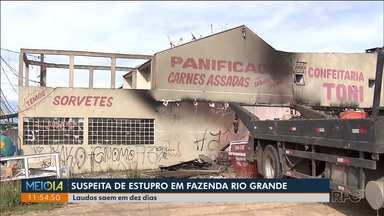 Laudos sobre caso de estupro em Fazenda Rio Grande devem sair em 10 dias - Homem suspeito do crime continua preso.