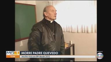 Padre Quevedo, que morreu em BH nesta quarta-feira, desmistificou casos 'paranormais' - Oscar González Quevedo Bruzan, o Padre Quevedo, de 88 anos, morreu na madrugada desta quarta-feira, em Belo Horizonte, por complicações cardíacas.