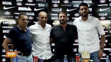 Sheik e Vilson são apresentados como diretores de futebol no Corinthians - Sheik e Vilson são apresentados como diretores de futebol no Corinthians