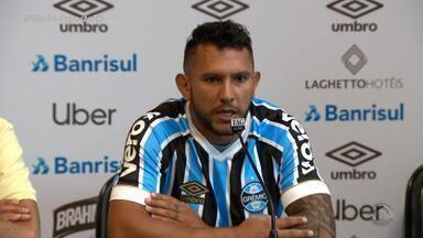 Reforço do Grêmio para 2019, Montoya fala sobre expectativas no clube - Assista ao vídeo.