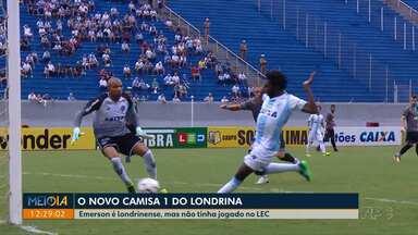 Conheça o novo camisa 1 do Londrina Esporte Clube - Emerson é londrinense mas nunca tinha jogado no Tubarão. Goleiro de 36 anos vem para disputar posição com outros goleiros.