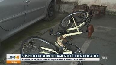Suspeito de atropelar mulher em Joinville no mês de dezembro é identificado - Suspeito de atropelar mulher em Joinville no mês de dezembro é identificado