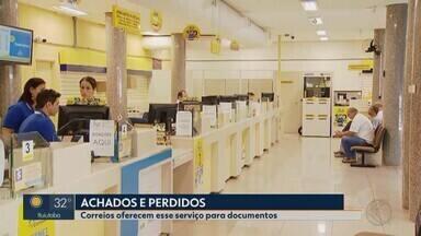Milhares de documentos perdidos em Uberlândia aguardam resgate nas agências dos Correios - Gerente do órgão informou que muitas pessoas não procuram as agências quando perdem os documentos.