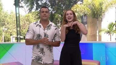 Programa de 09/01/2019 - Joaquim Lopes e Sophia Abrahão apresentam os bastidores da televisão e comentam a divulgação dos primeiros participantes do BBB 19.