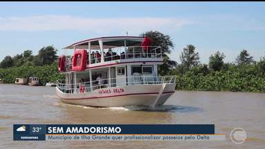 Município de Ilha Grande vai profissionalizar passeios pelo Delta para fortalecer turismo - Município de Ilha Grande vai profissionalizar passeios pelo Delta para fortalecer turismo