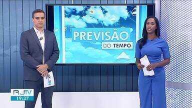 Previsão do tempo: temperatura continua alta no Sul do Rio - Há possibilidade de chuva em algumas cidades da região.