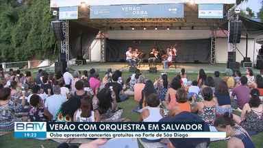 Osba apresenta concertos gratuitos no Forte São Diogo, em Salvador - O projeto 'Osba de Verão' faz homenagem e celebra a estação mais quente do ano.