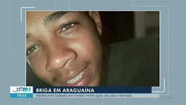 Adolescente baleado em confronto com outros jovens morre após oito dias internado - Adolescente baleado em confronto com outros jovens morre após oito dias internado