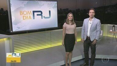 Bom Dia RJ - Edição de quinta-feira 10/01/2019 - As primeiras notícias do Rio de Janeiro, apresentadas por Flávio Fachel, com prestação de serviço, boletins de trânsito e previsão do tempo.