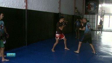Lutadores alagoanos de MMA treinam para se destacar no cenário nacional - São três jovens que treinam com o mesmo grupo de treinadores e já traçaram metas para 2019.